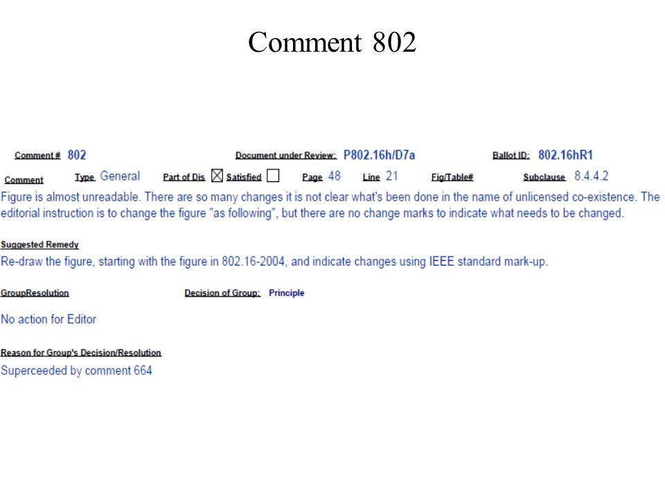 Comment 802