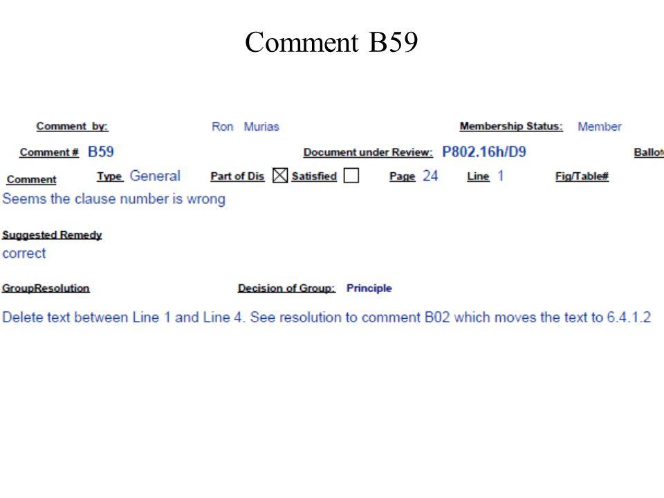 Comment B59