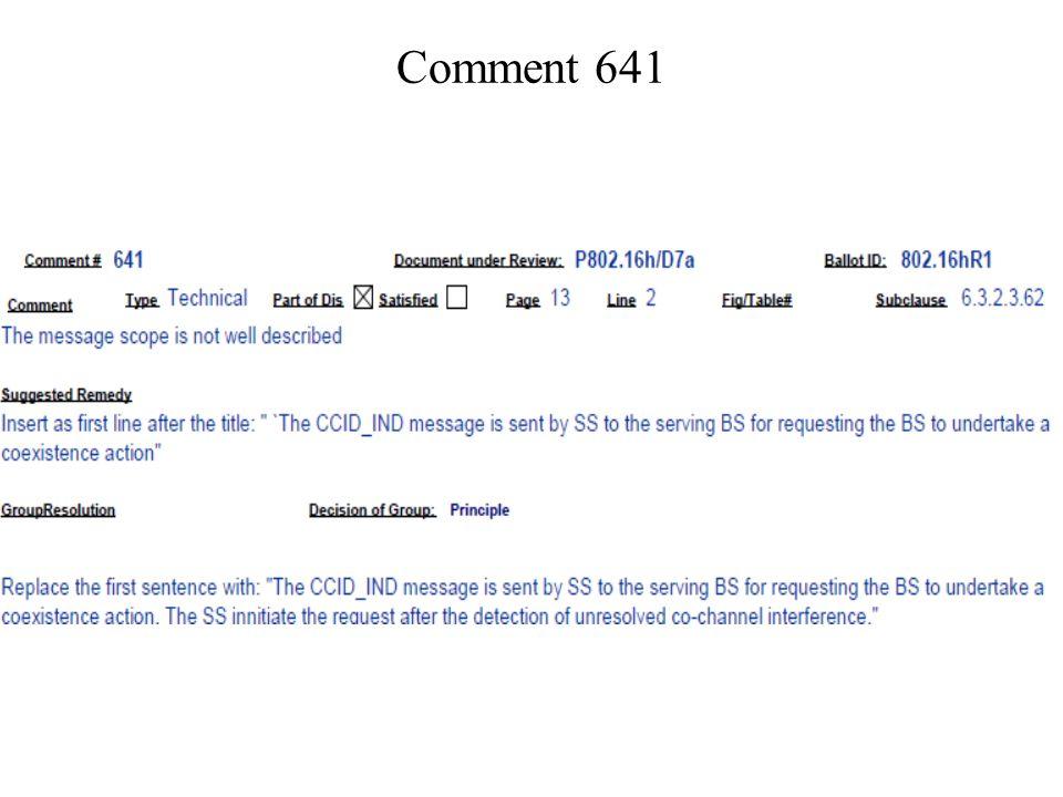 Comment 641