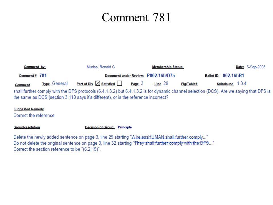 Comment 781