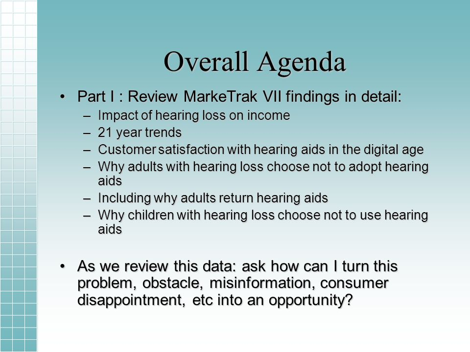 Simulated household income loss and unrealized Federal Taxes from non-aided households Hearing Loss (Decile) Current HL DistributionPopulation Size (Millions) Annual Lost Income ($Billions) Annual unrealized Federal Taxes ($Billions) 10%18.1%4.36$7.36$1.10 20%17.0%4.09$11.46$1.72 30%14.6%3.53$13.81$2.07 40%12.0%3.90$15.92$2.19 50%10.8%2.59$15.92$2.39 60%08.1%1.95$14.16$2.12 70%06.8%1.63$13.64$2.05 80%05.7%1.38$13.11$1.97 90%04.2%1.00$10.61$1.59 100%02.8%0.67$7.80$1.17 Total100%24.08$122.4$18.4