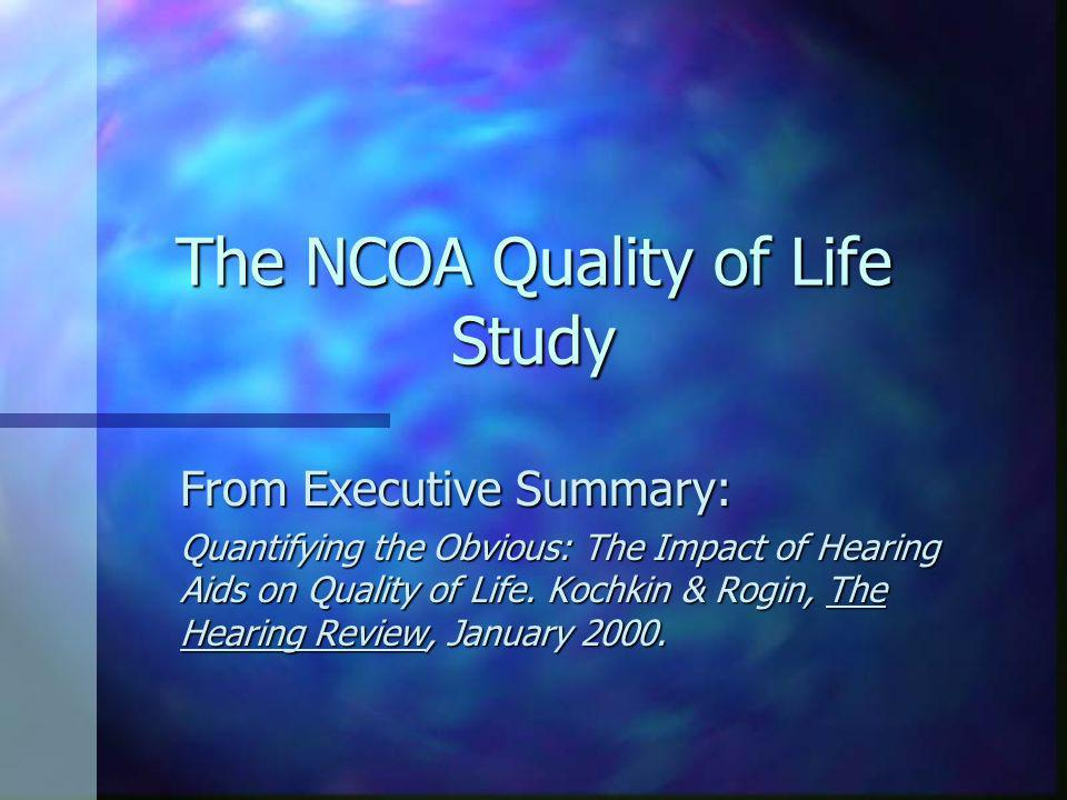 Proposed Actions n Develop 10-15 minute professional video on real quality of life changes using your State and National Organizations.