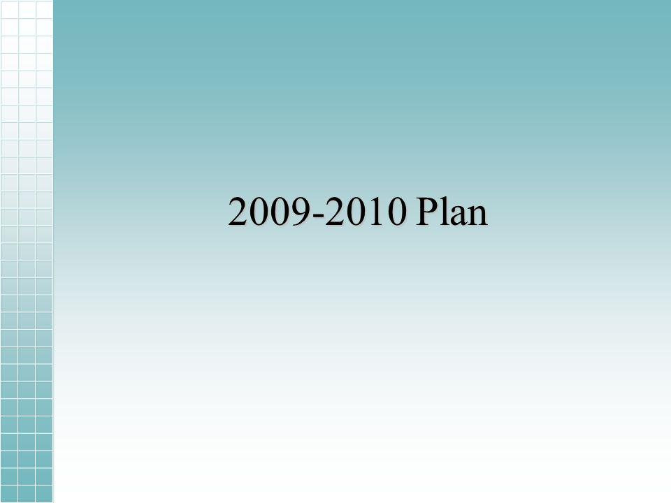 2009-2010 Plan