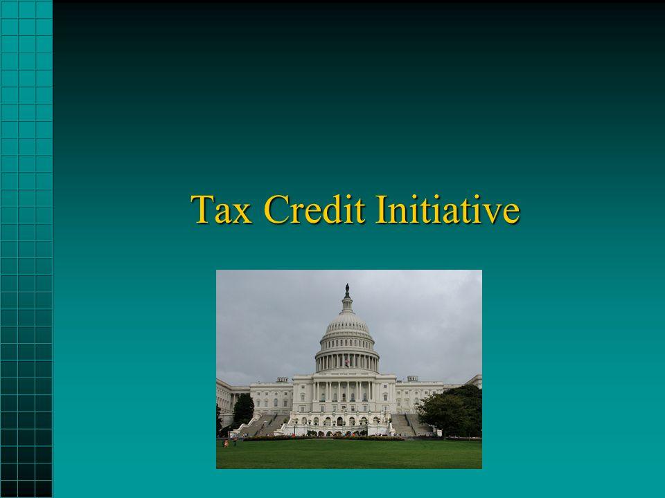 Tax Credit Initiative