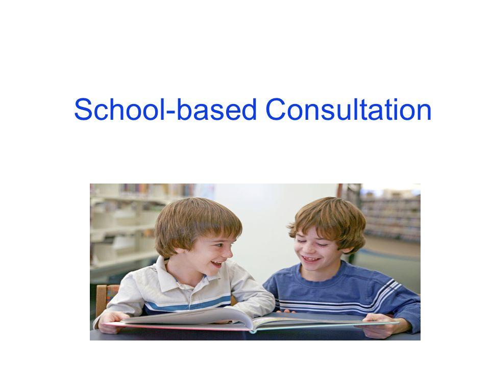 School-based Consultation