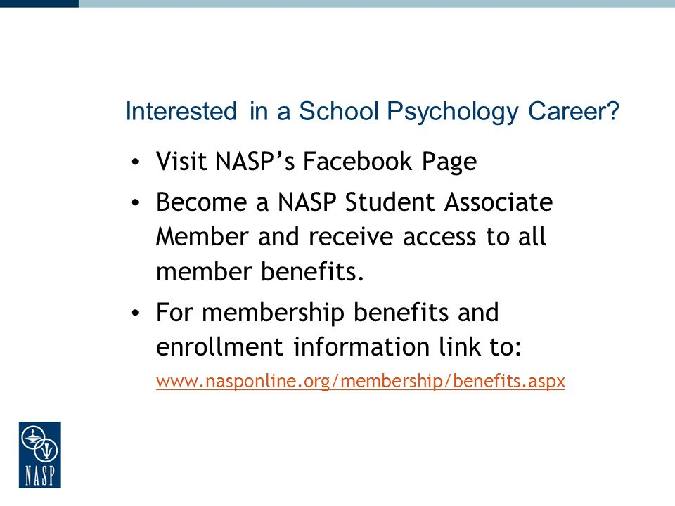 Interested in a School Psychology Career.