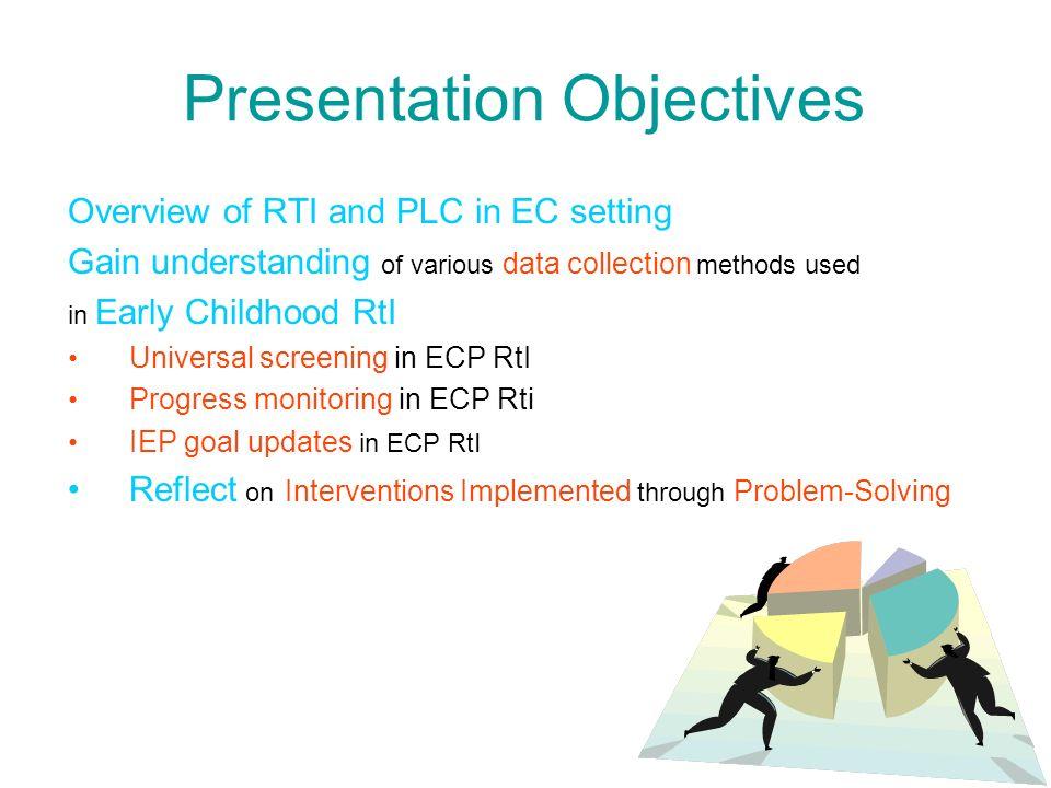 1. Universal Screening/ Problem ID IGDIs Creative Curriculum Checklist Play-Based Assessment