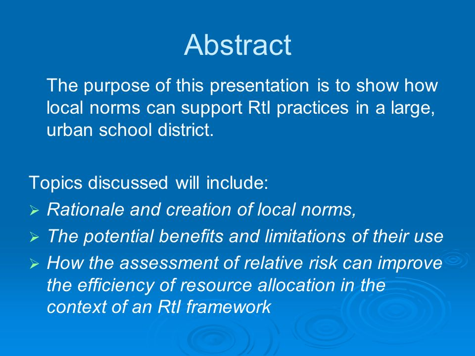RtI RtI is the practice of (1) providing high quality instruction/intervention MATCHED TO STUDENT NEED and (2) using learning rate over time and level of performance to (3) make important educational decisions.