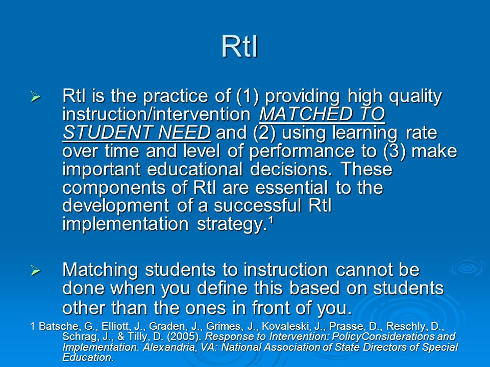 RtI Triangle While RtI models typically use triangles to illustrate the ideal distribution of students to resources, reality often looks very different.