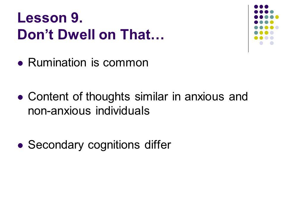 Lesson 9.