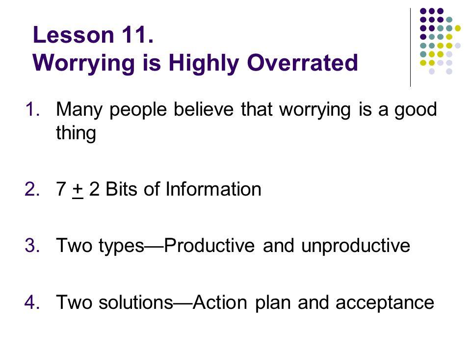 Lesson 11.