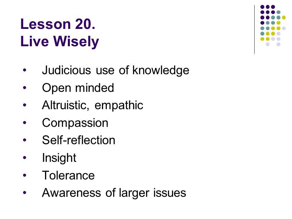 Lesson 20.
