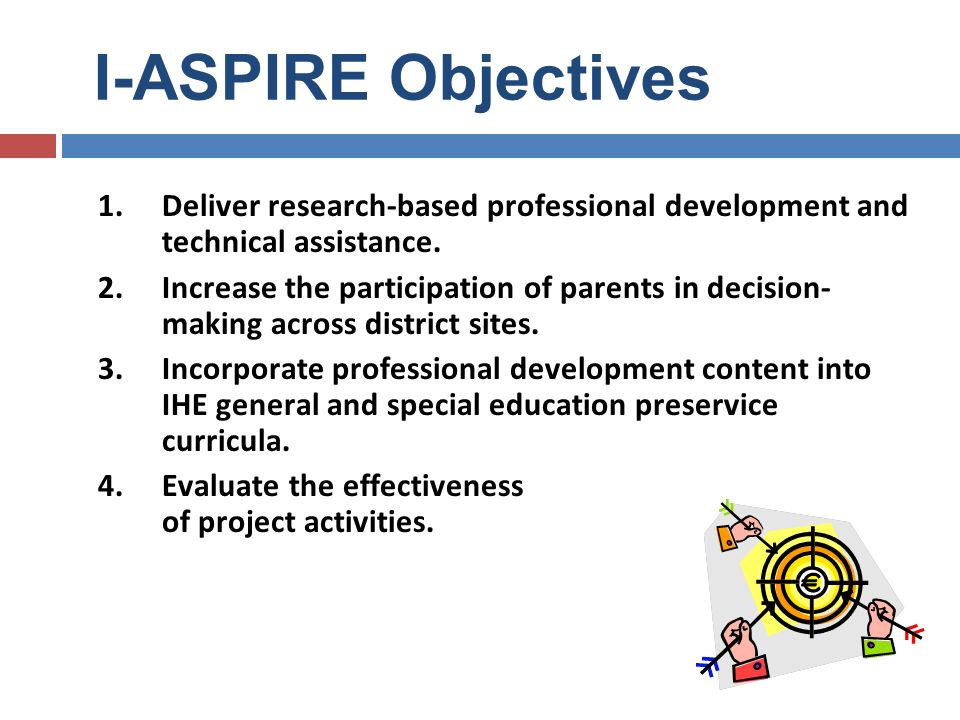 I-ASPIRE: Regional System for T.A.