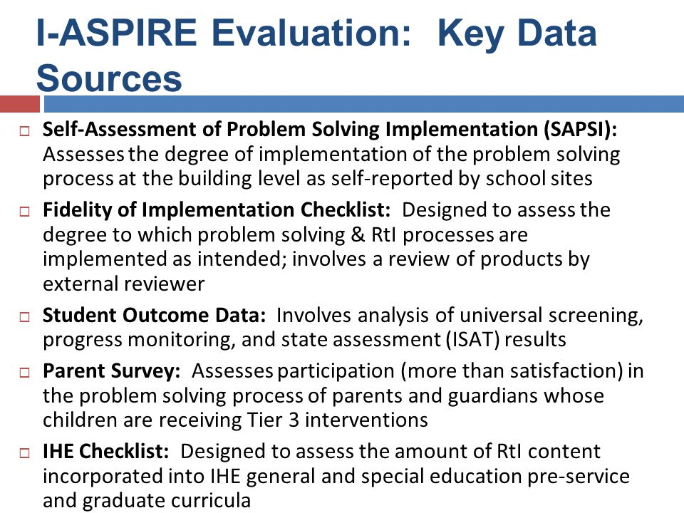 SAPSI and Fidelity Of Implementation Checklist Gary L.