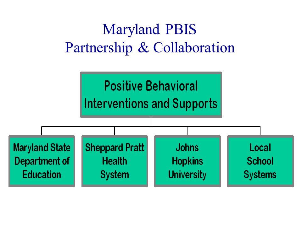 Maryland PBIS Partnership & Collaboration