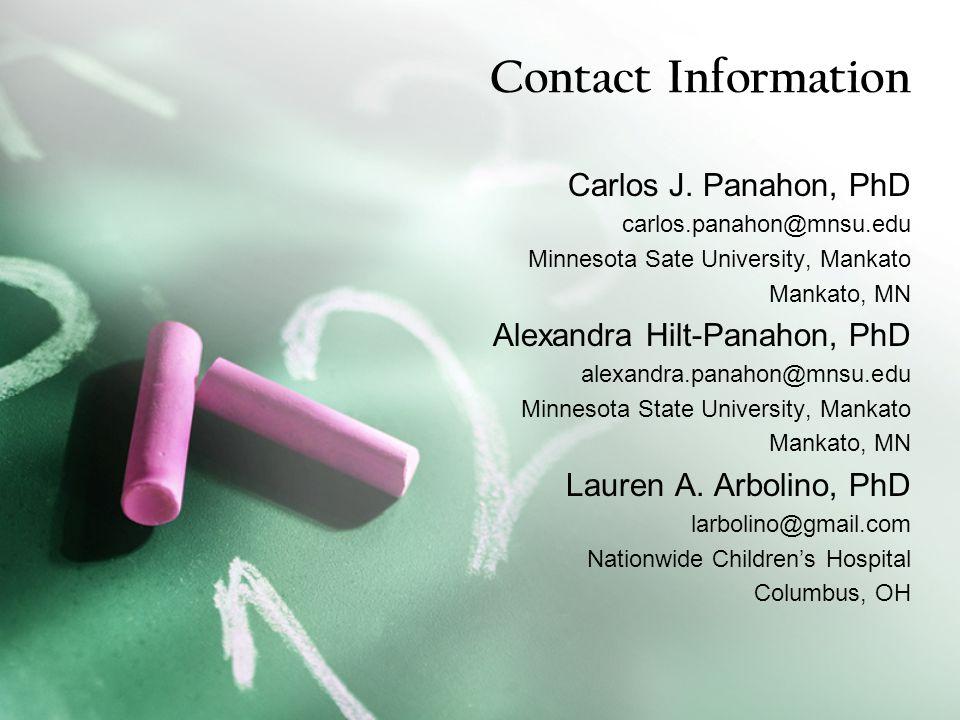 Contact Information Carlos J.