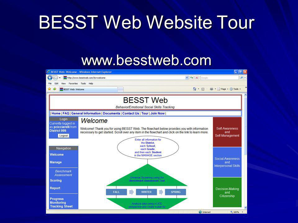 BESST Web Website Tour www.besstweb.com