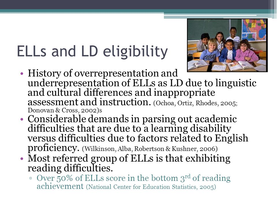 Approaches for determining eligibility: Discrepancy model Measurement of IQ/achievement gap Utah Estimator: at least 93 percent confident there is a severe discrepancy between the student s expected achievement score and the obtained achievement score.