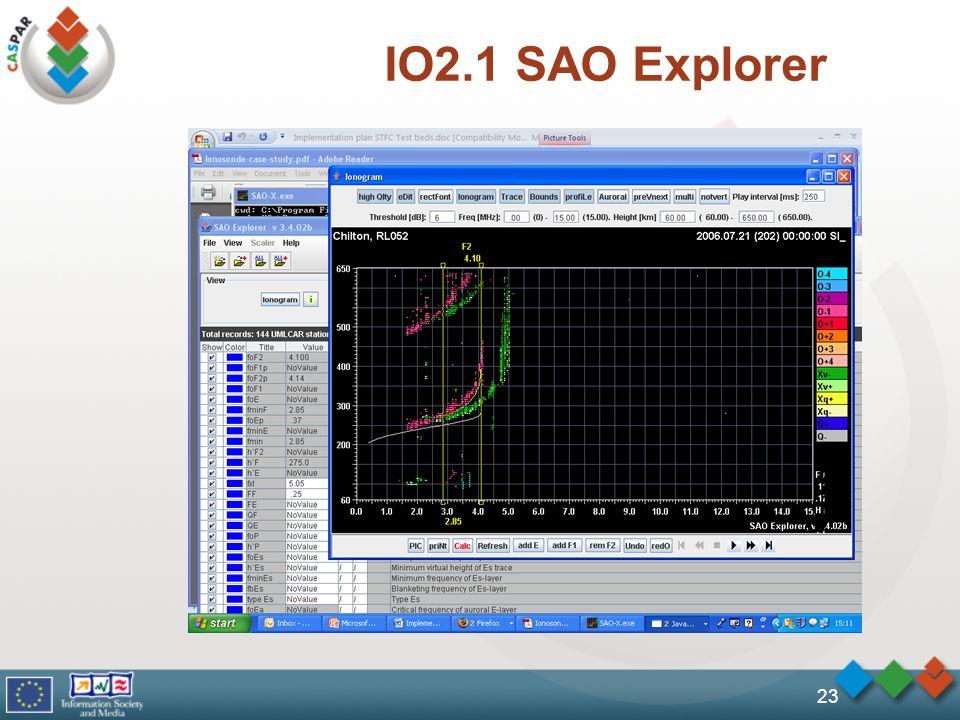 IO2.1 SAO Explorer 23