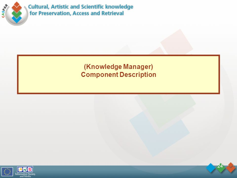 24 (Knowledge Manager) Component Description
