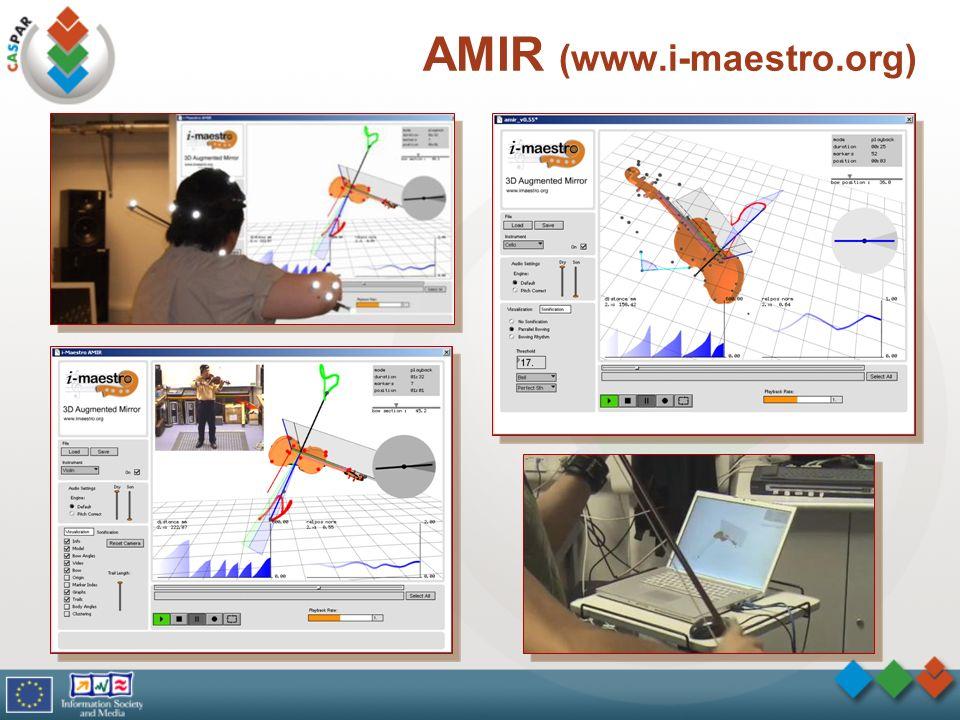 AMIR (www.i-maestro.org) 7