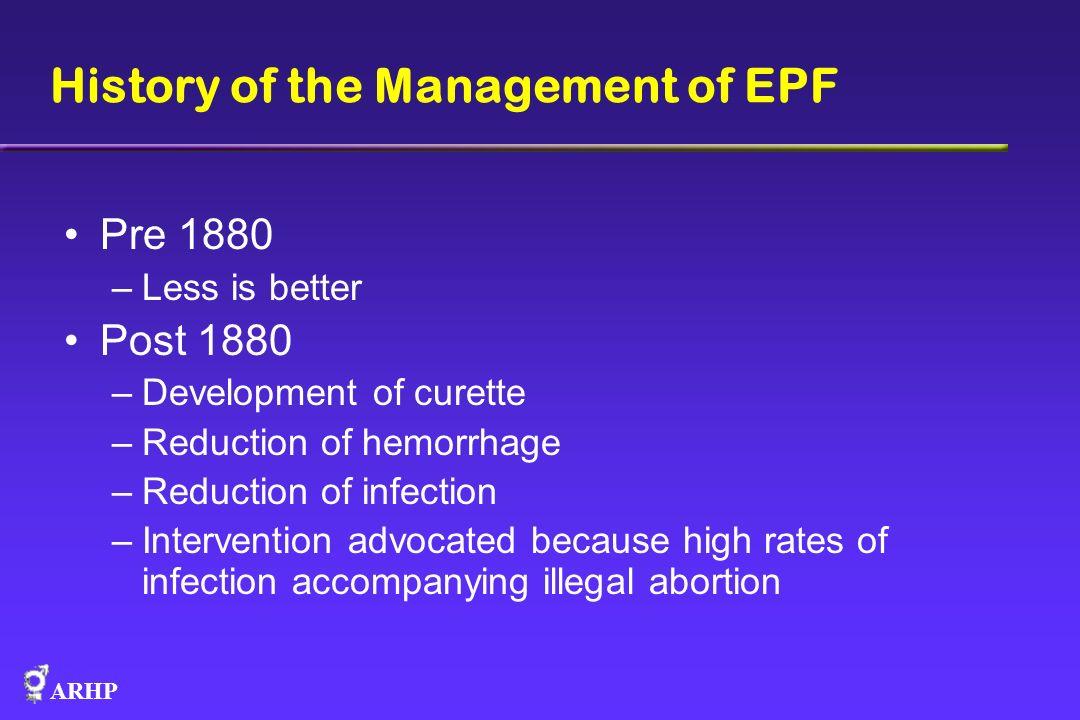 ARHP MVA Safety & Efficacy Hale 1979 (MVA in 1 st trimester, gynecology office, Hawaii) Edwards 1997 (MVA at < 6 weeks gestation, womens clinic, Texas) Westfall 1998 (MVA in 1 st trimester, family practice office, Colorado) Hemlin 2001 (EVA vs.