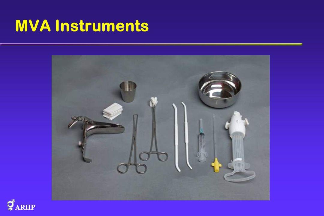 ARHP MVA Instruments