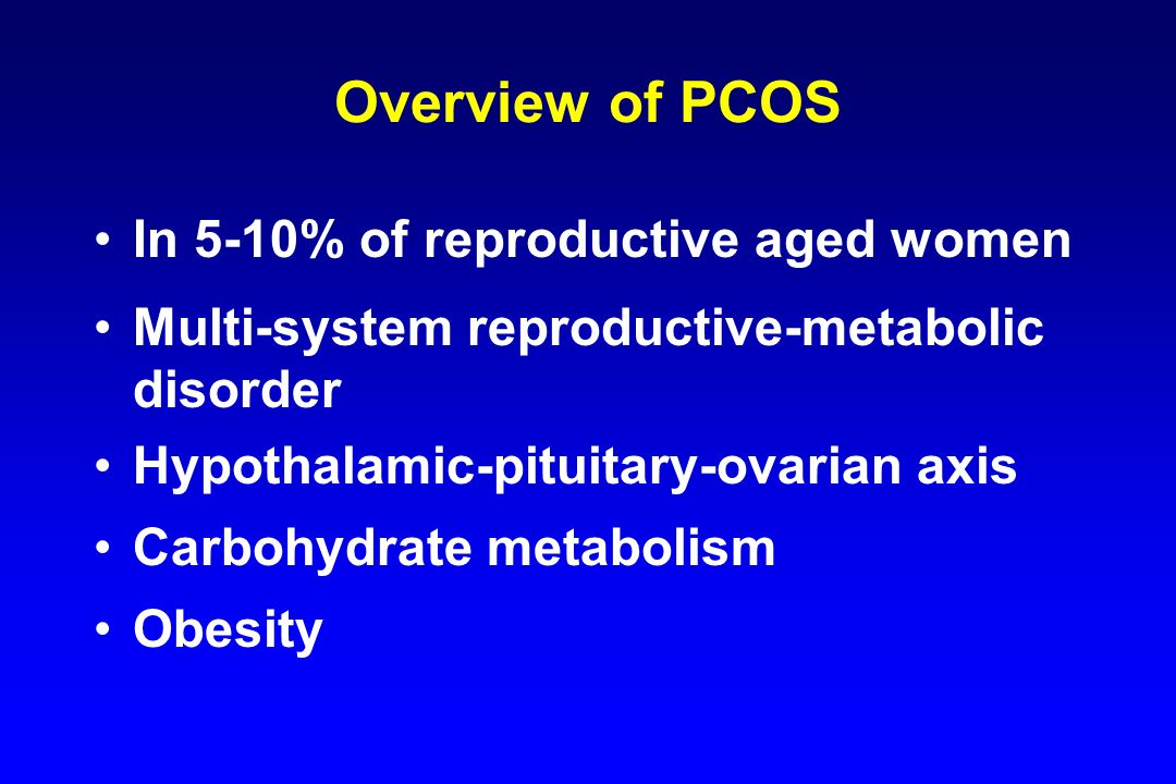 0 -2 -3 -4 -5 -6 -7 -8 -9 Change in LH pulses/12 hr 0 2 4 6 8 10 Day 7 P (ng/ml) Controls PCOS Change in LH Pulse Frequency After E 2 + P with Flutamide Treatment 0 2 4 6 8 10 0 -2 -3 -4 -5 -6 -7 -8 -9 Eagleson et al, JCEM, 2001