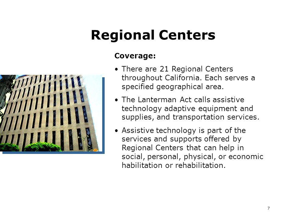 18 Resources: ILCs So.Calif.