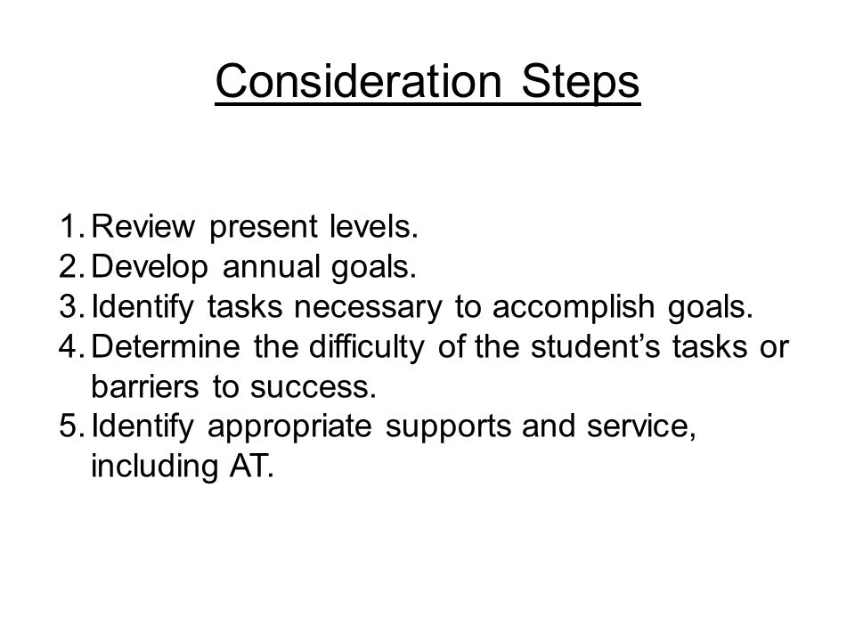 Accessible Technology Assessment: Student, Environment, Tasks and Tools (SETT) Student:School:Grade: Team participants: (names and titles) Phone Number:Case Manager:Date: School Administrator: Special Ed Cluster Supervisor: IEP Goal area being addressed: STUDENT: What are the students strengths and needs.