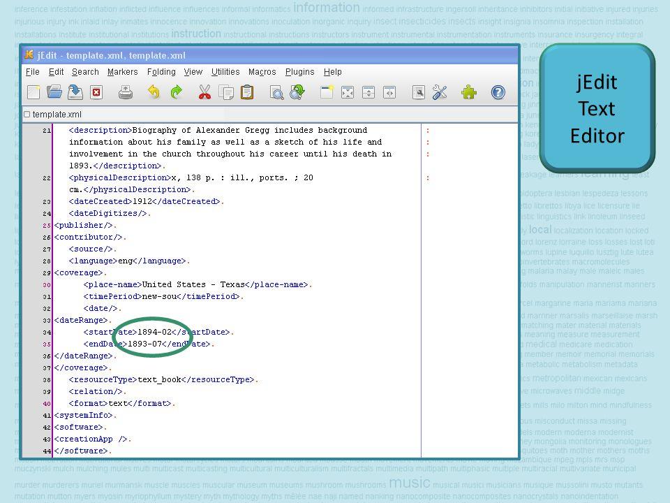 jEdit Text Editor