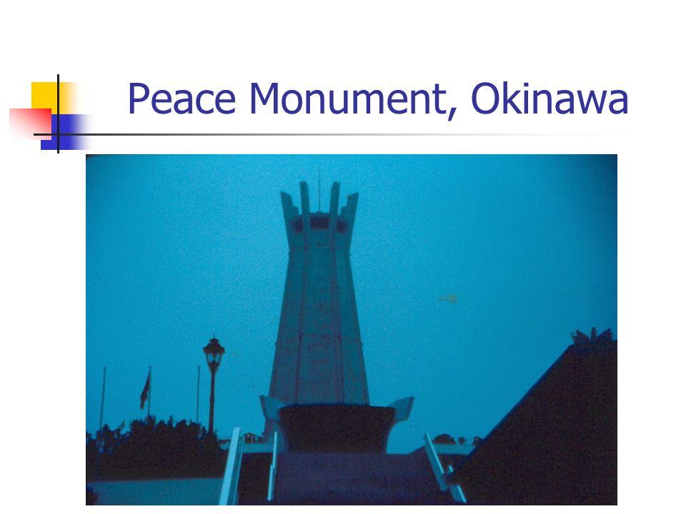 Peace Monument, Okinawa