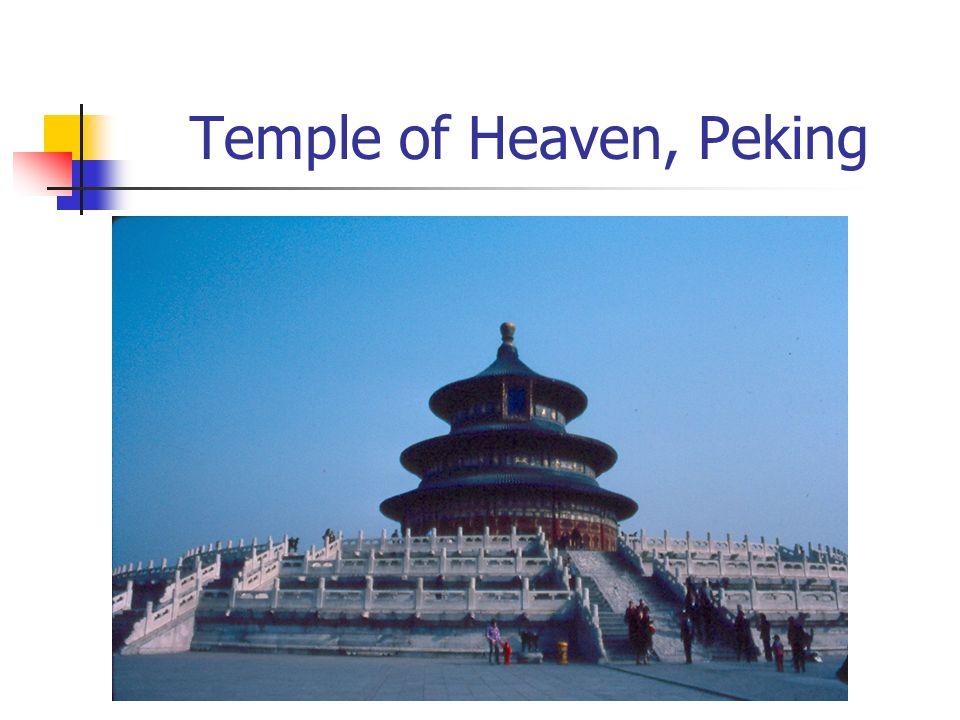 Temple of Heaven, Peking