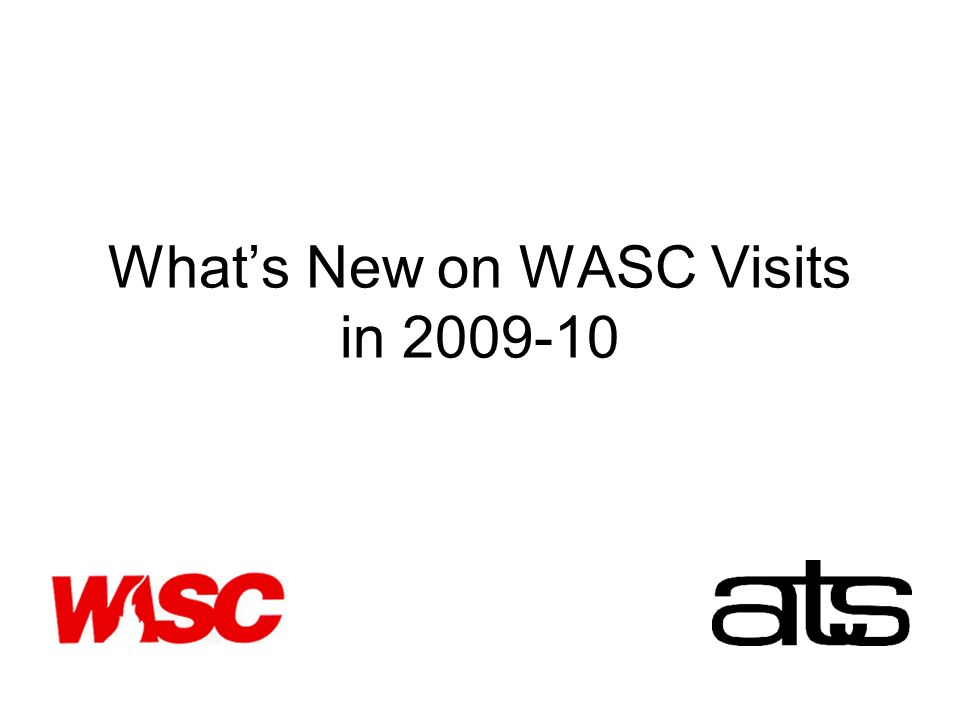 Whats New on WASC Visits in