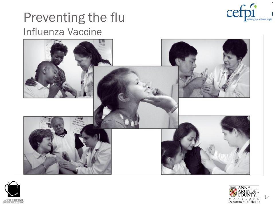 14 Preventing the flu Influenza Vaccine