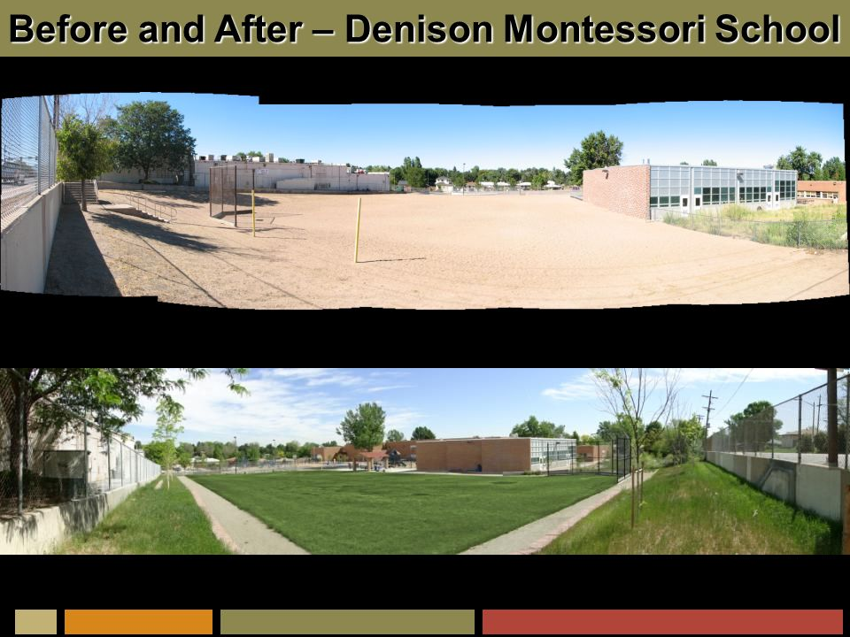 Before and After – Denison Montessori School