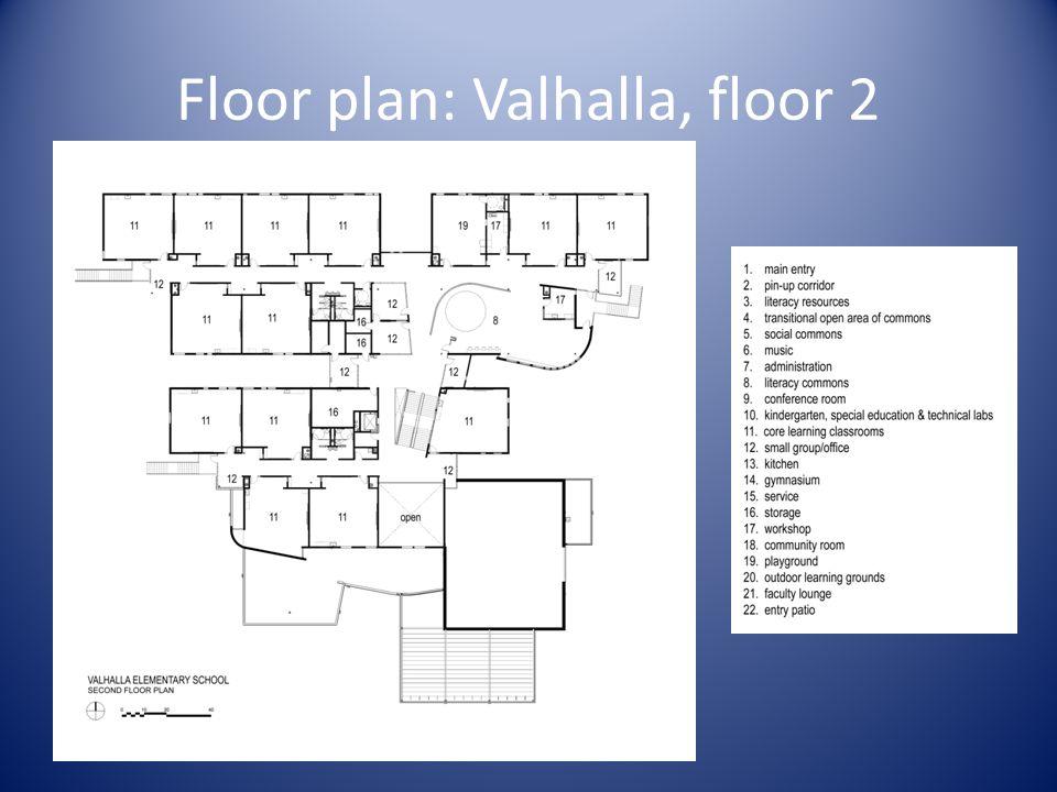 Floor plan: Valhalla, floor 2