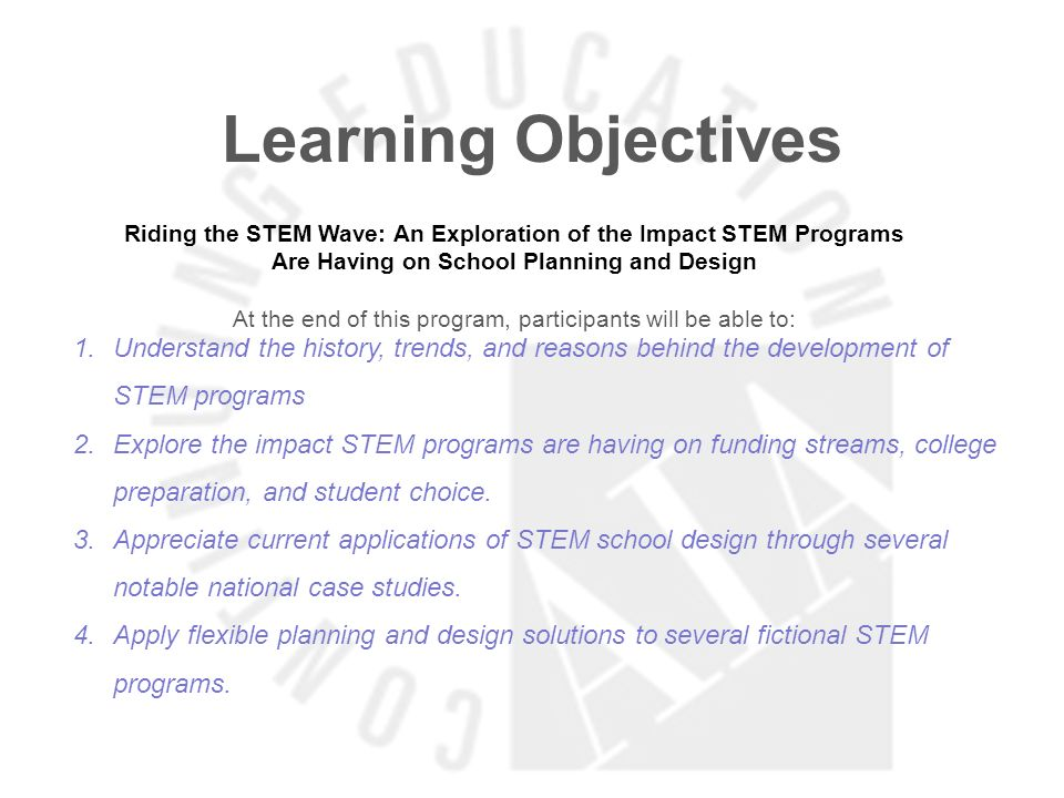 Learning Objectives Easing Overcrowded High Schools with Limited Capital Funds At the end of this program, participants will be able to: 1.Identify different solutions for creating high school capacity to include different split shifts, different grade configurations & 9th grade centers.