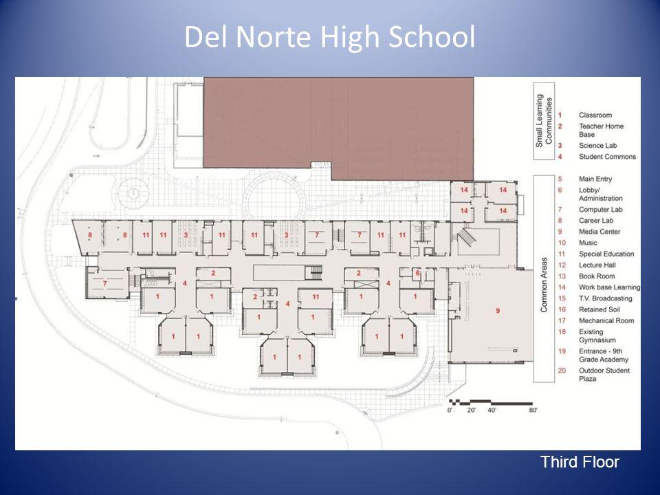 Main Site Diagram Del Norte High School Third Floor