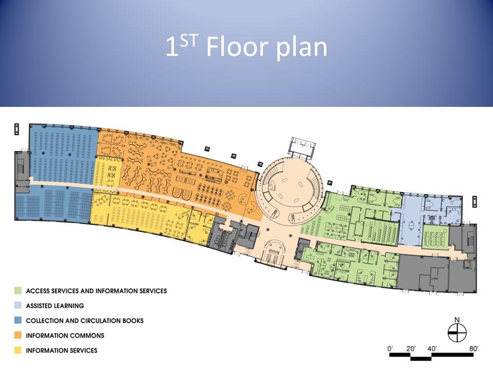 1 ST Floor plan