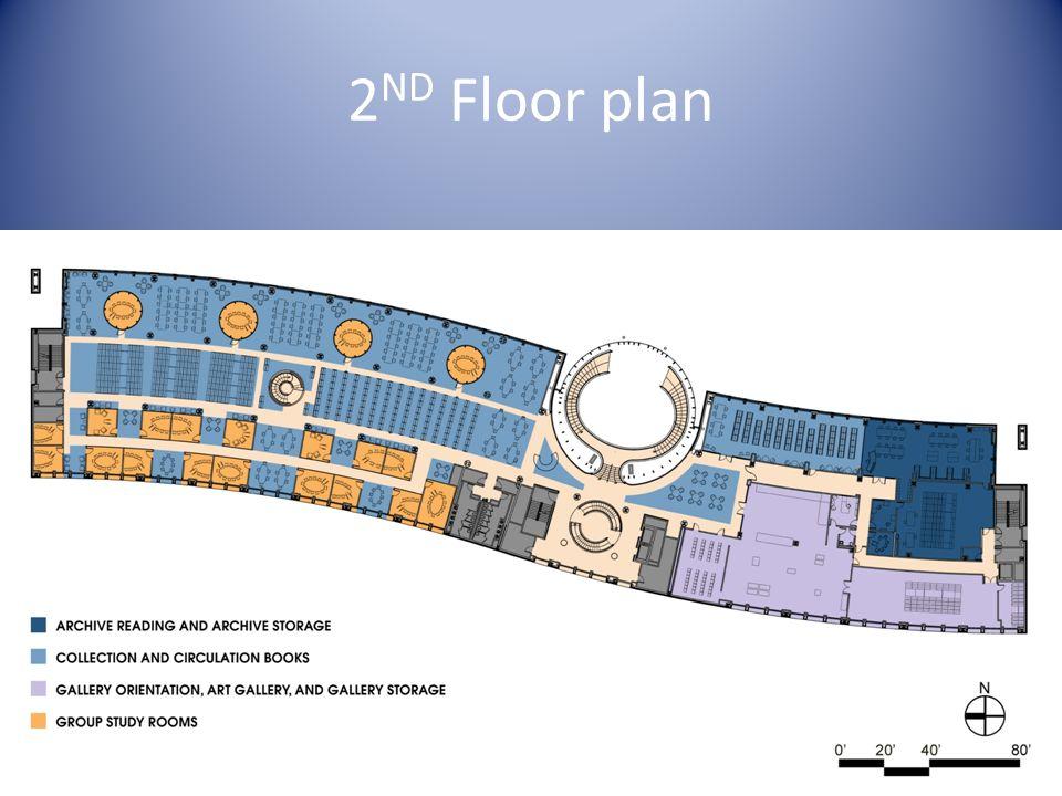 2 ND Floor plan