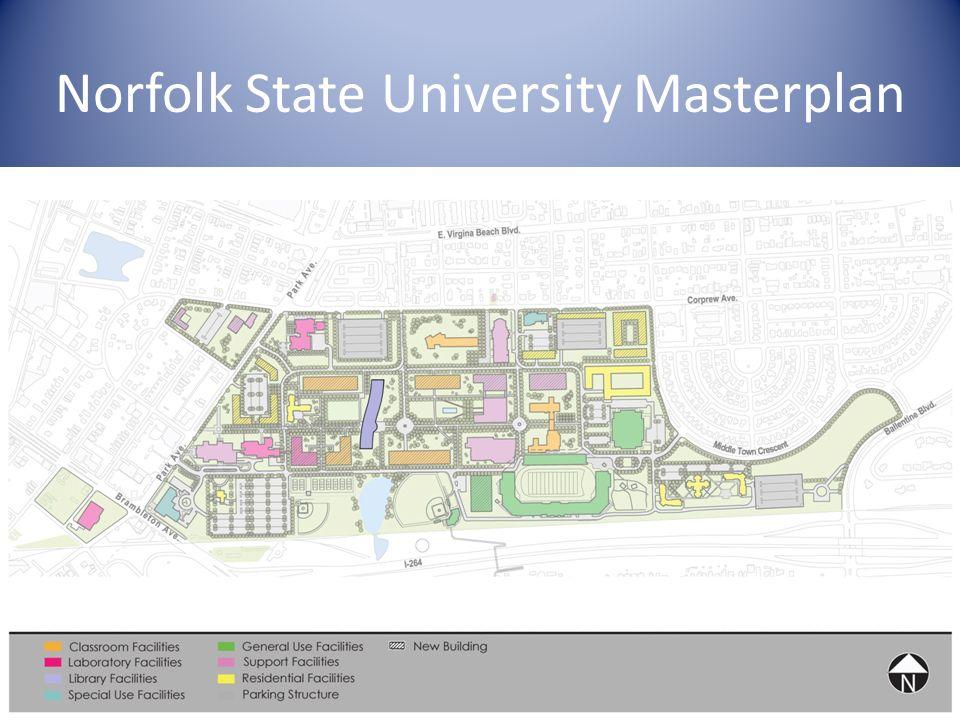 Norfolk State University Masterplan