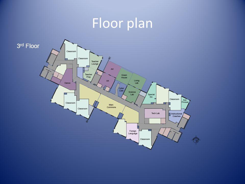 Floor plan 3 rd Floor