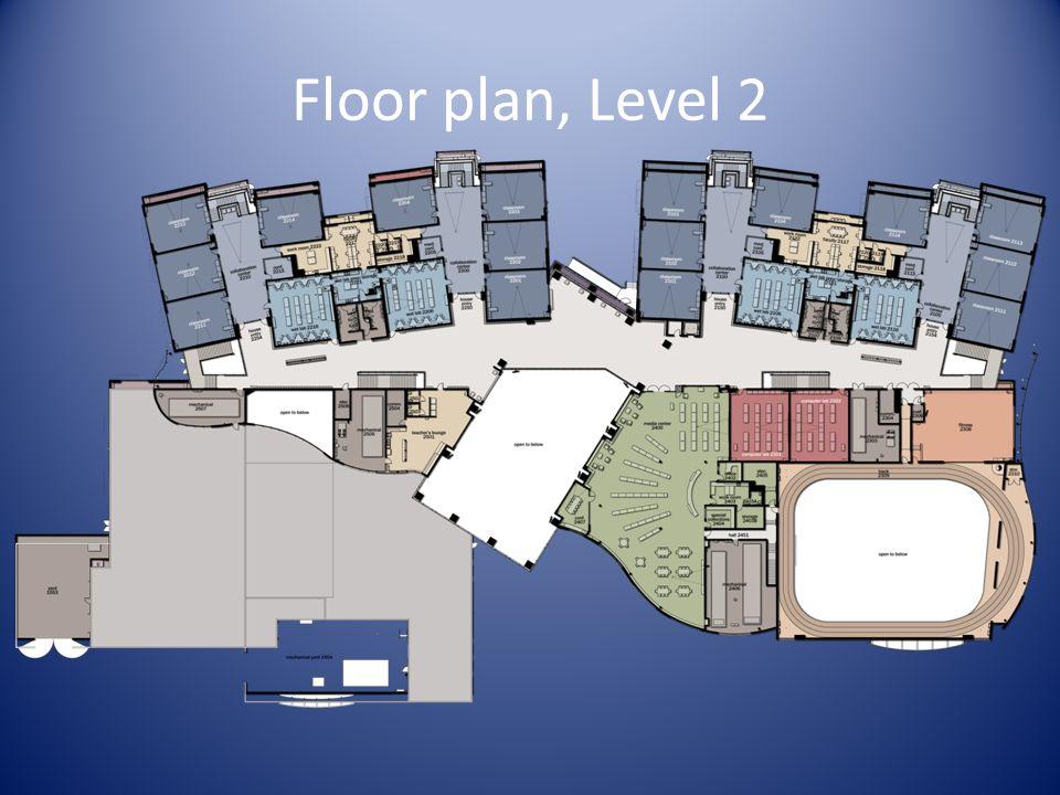 Floor plan, Level 2