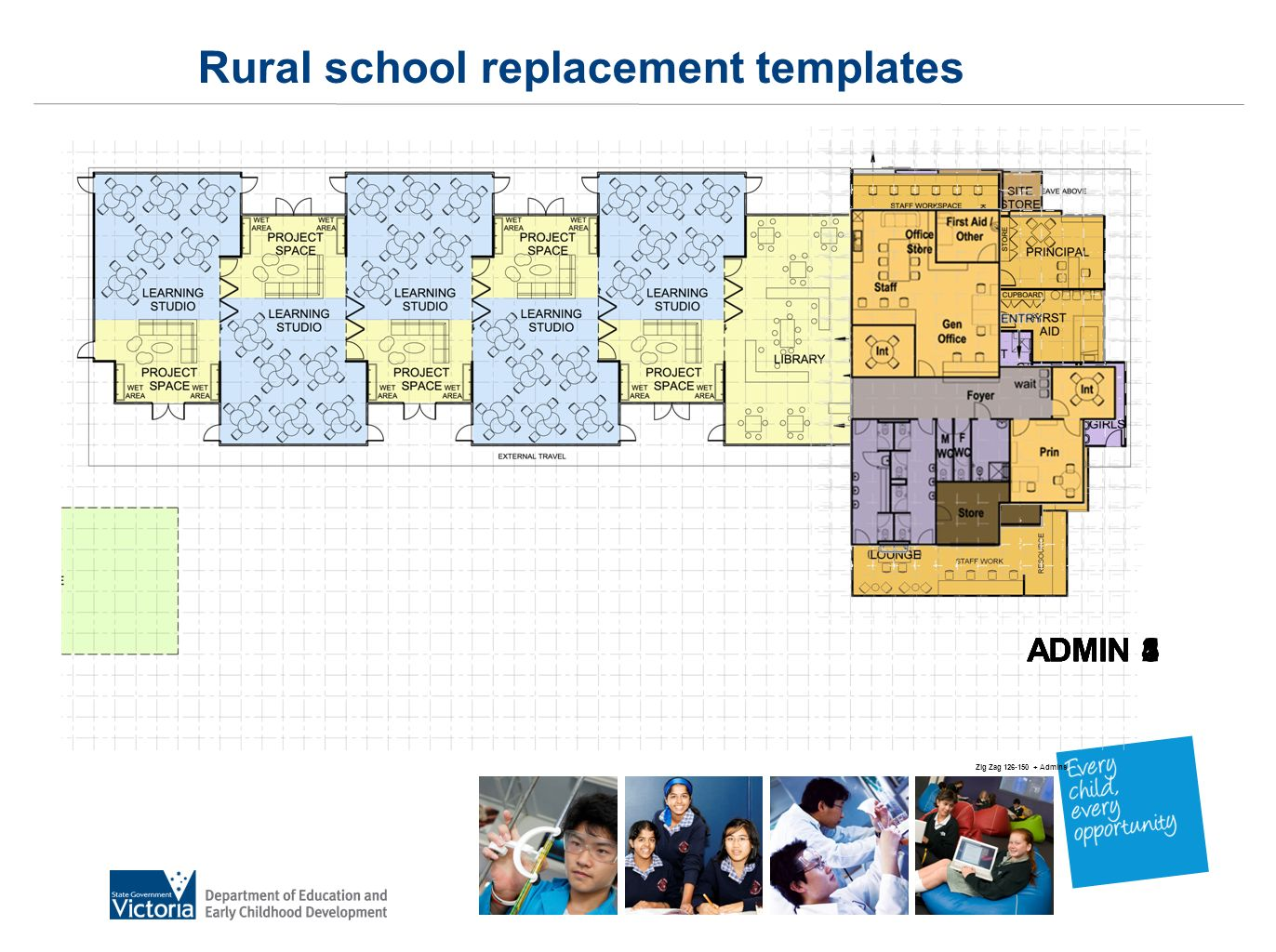 Zig Zag 126-150 + Admins ADMIN 1ADMIN 2ADMIN 3ADMIN 4ADMIN 5 Rural school replacement templates