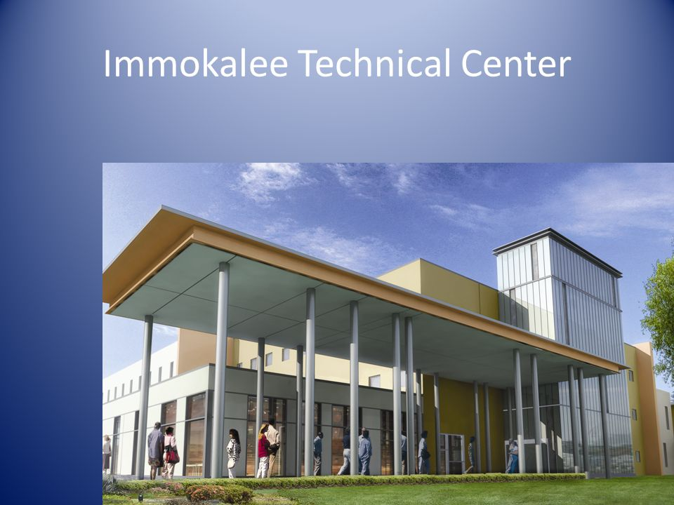 Immokalee Technical Center Model View from the Street