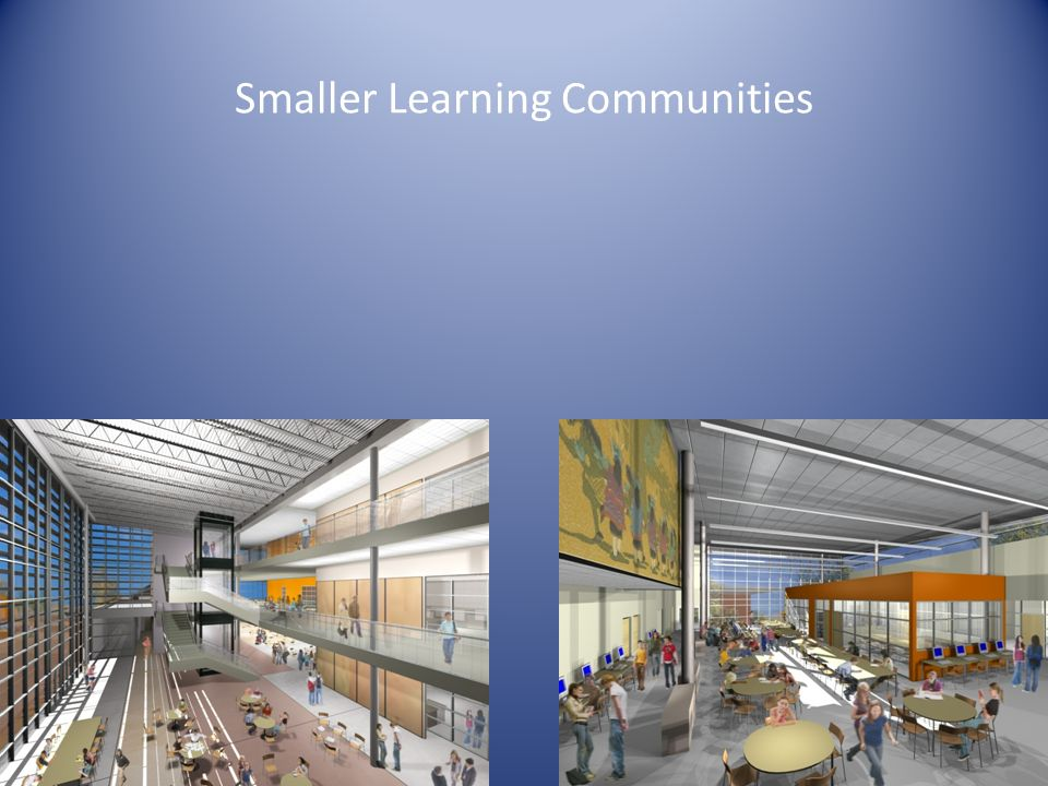 Smaller Learning Communities