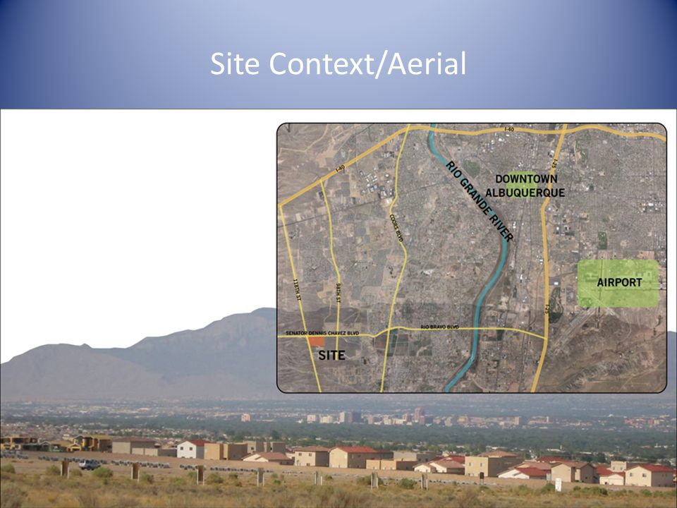 Site Context/Aerial Study Models