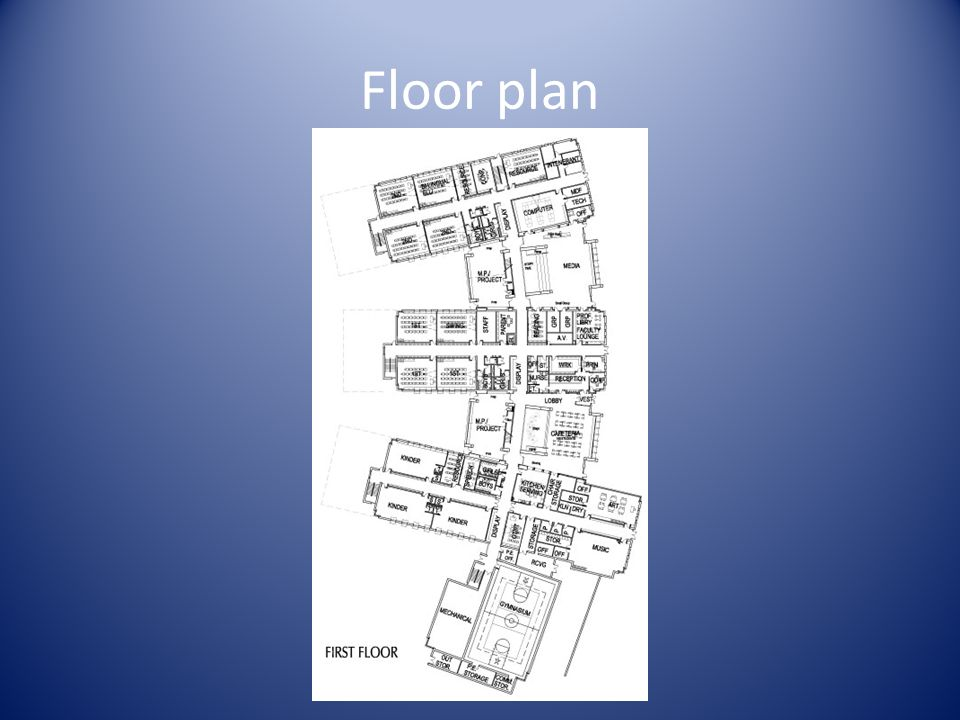 Floor plan Insert large format floor plan Note: Please add additional slides for additional floors