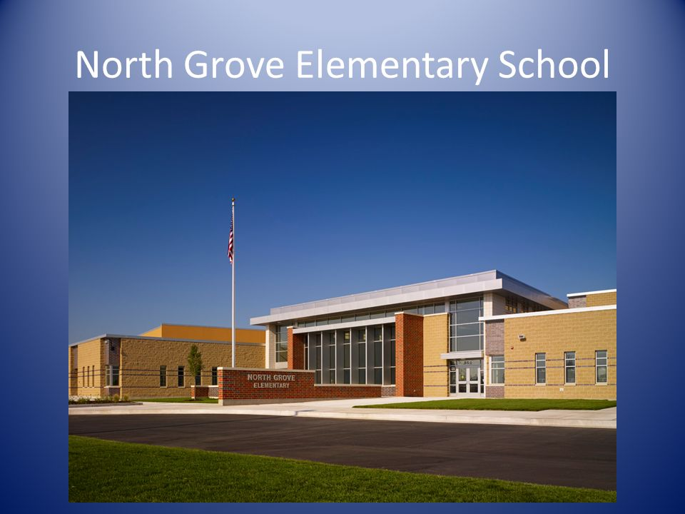 North Grove Elementary School Main Exterior Image